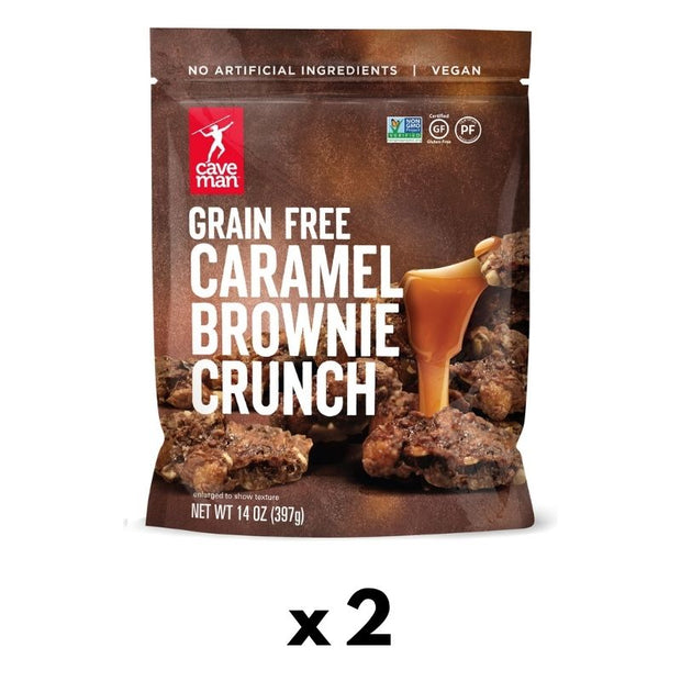 Caramel Brownie Crunch 2-pack