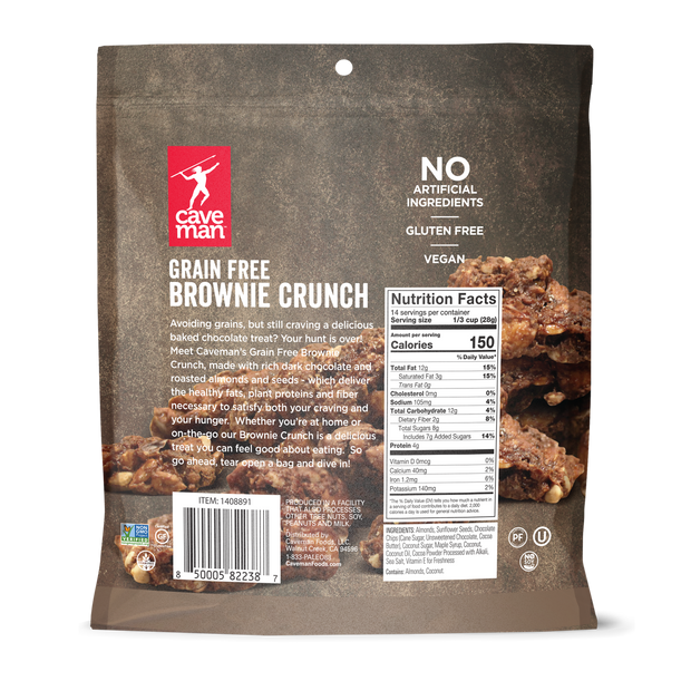 Grain Free Brownie Crunch