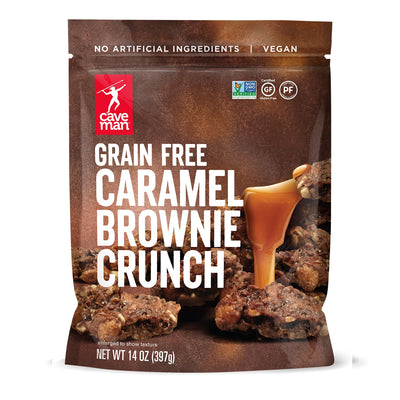 Grain Free Caramel Brownie Crunch