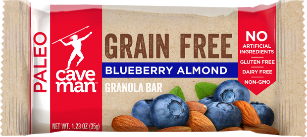 Trade your sugary cereal bar for a grain free snack with only 7g of sugar.