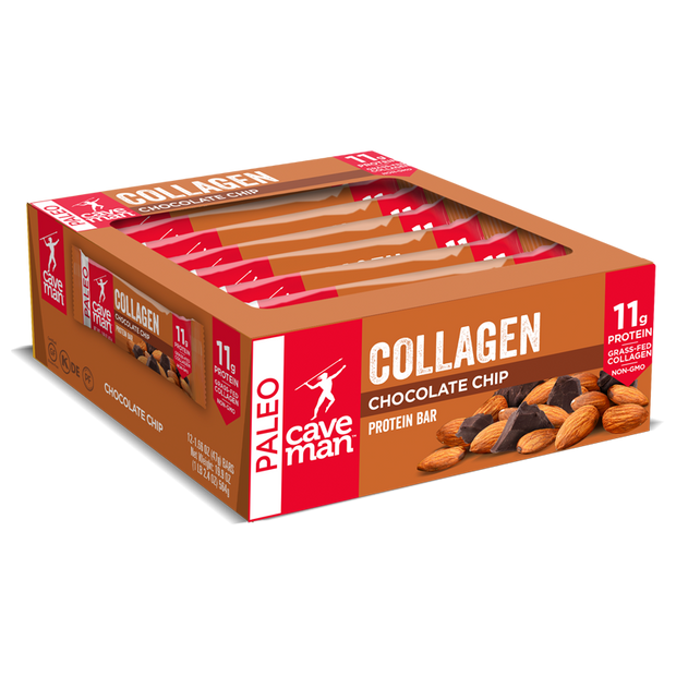 Chocolate Chip Collagen Bars