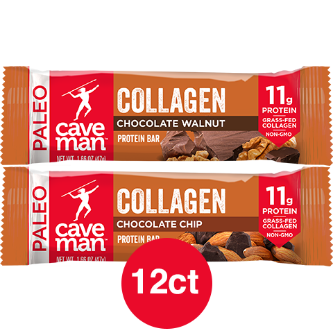 Caveman Collagen Bar Variety Pack