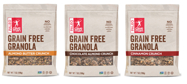 Grain Free Granola Crunch - 3ct