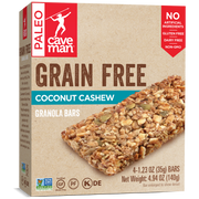 Share a 12-count snack pack of crunchy Paleo-Friendly granola bars.