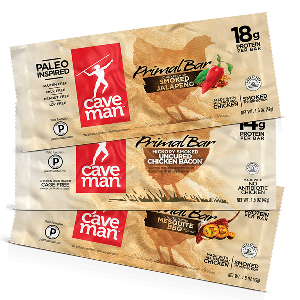Primal Bar Protein Variety Pack 12-Count