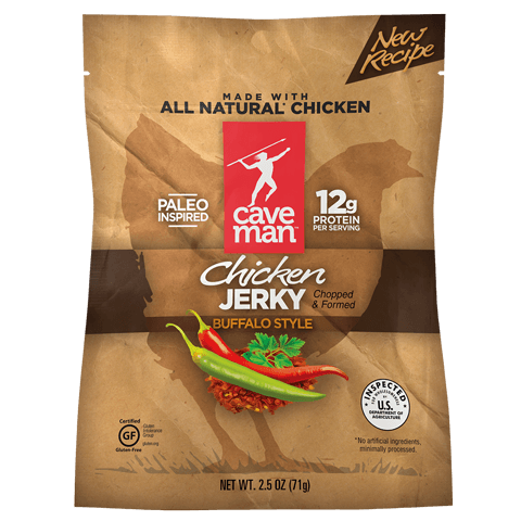 Buffalo Style Chicken Jerky (12 Pouches)