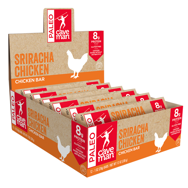 Caveman Sriracha Chicken Meat Bar