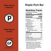 Maple Pork Meat Bars