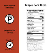 Maple Pork Meat Bites