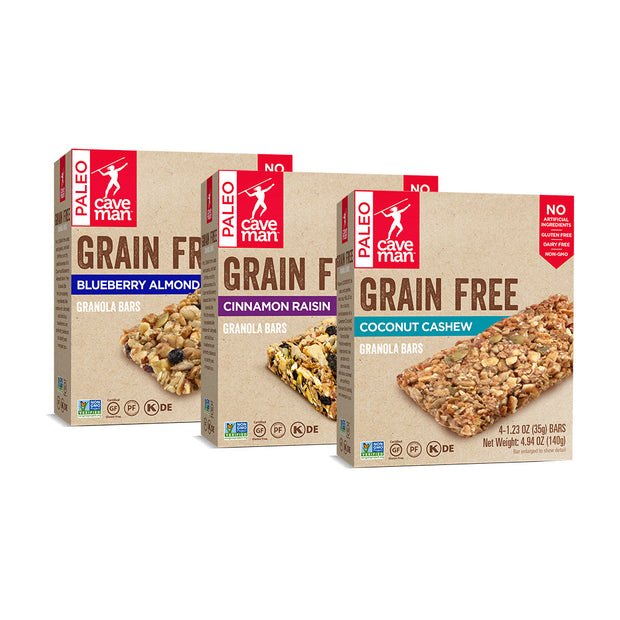 Grain Free Granola Bar Variety Pack (12 Count)