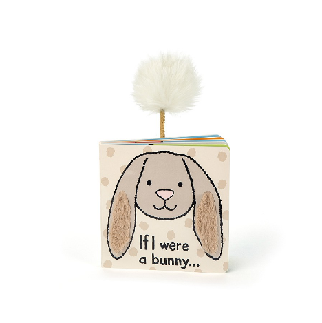 If I Were A Bunny Book (Beige)