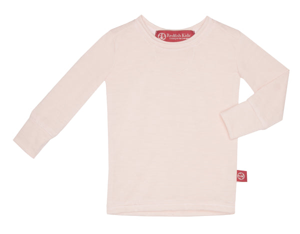 Baby Lap Tee Long Sleeve Basic White