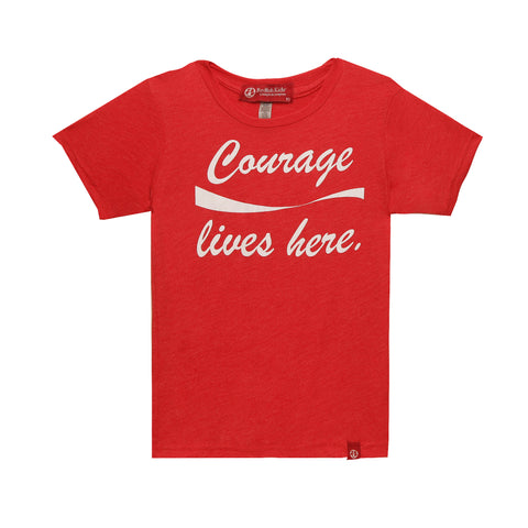 Courage Collection SS19 : Courage Lives Here Rouge