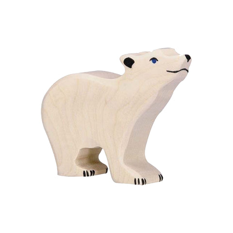 Small Head Raised Polar Bear