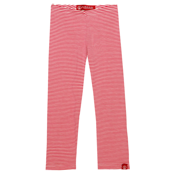 Leggings Thin Cardinal Stripe