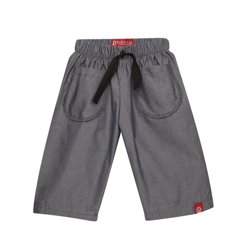 Baby Karate Pants Blue Whale