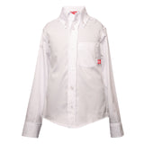 Redfish Kids Oxford Dress Shirt White Moonlight front