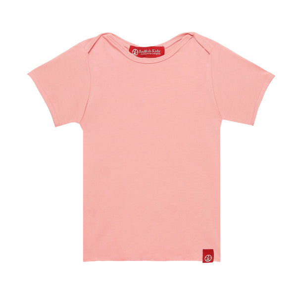 Redfish Basic Short Sleeve Lin Bu Pink