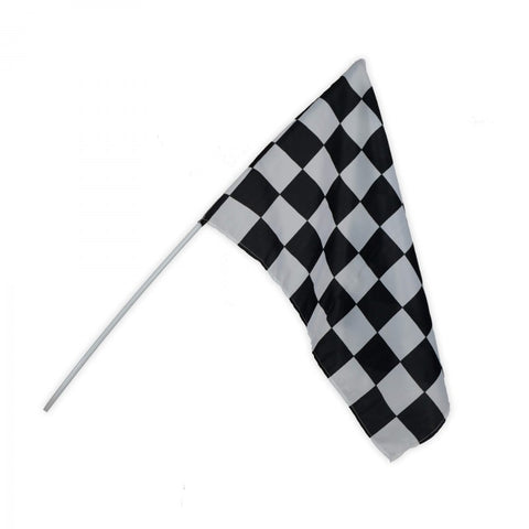Black & White Checkered Race Flag