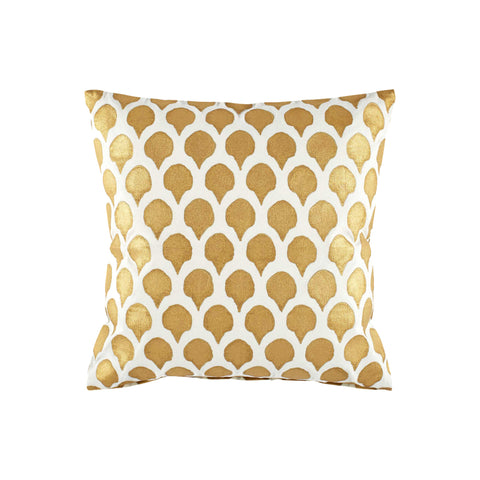 Nadole Gold Decorative Pillow 20x20
