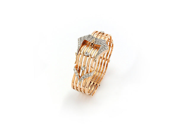 Vintage Bracelet with Diamond