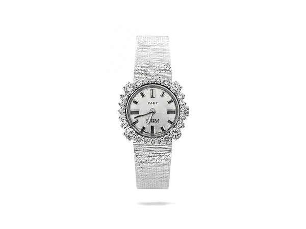 Vintage Pagy Watch with Diamond