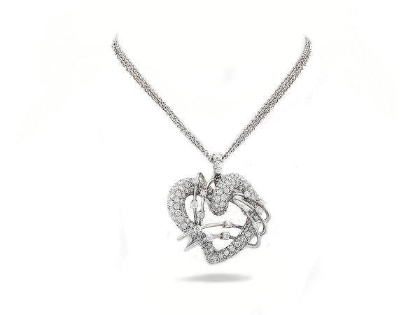 Leo Pizzo Pendant with Diamond