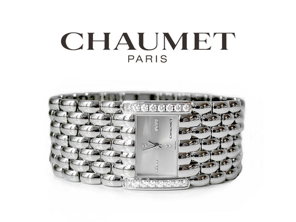 Chaumet Steel & Diamond Watch