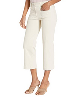 Worlds Best Wide Leg Cropped Zip Pants w/ Front Pockets