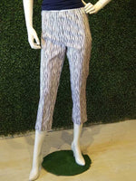 Insight Crop Techno Pull-On Awning Striped Pant