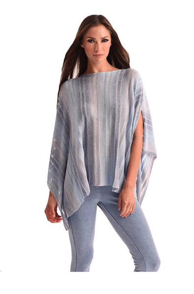Angel Multi Color Cut Out Poncho