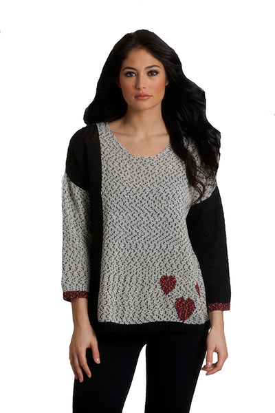 French Kyss Crochet Heart Top