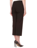 Worlds Best Wide Leg Cropped Pull On Pants w/ Front Pockets