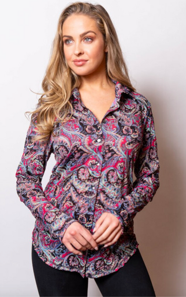 Sno Skins Crinkle Button Shirt