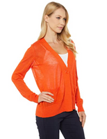Worlds Best Lightweight Single Button Knit Cardigan w/ Front Pockets