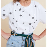 Wishlist Distressed Hem Star T-Shirt