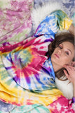 Blue Buttercup Tie Dye French Terry Top