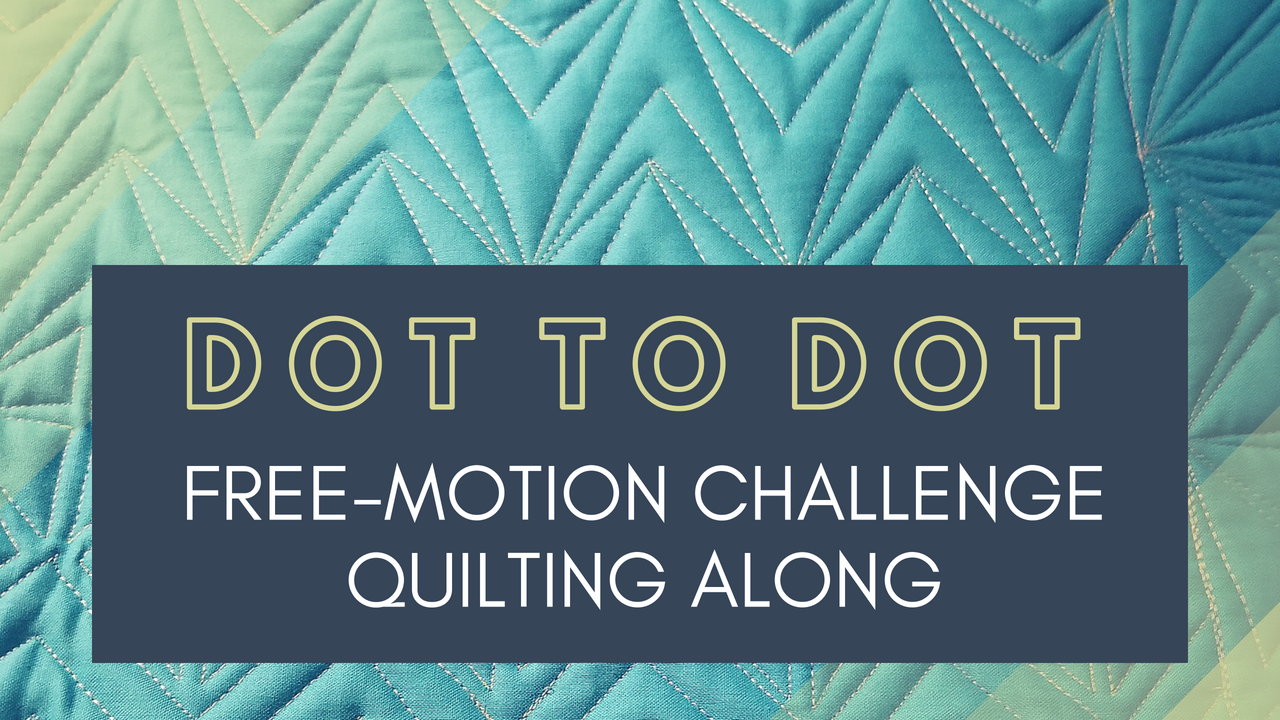 graphic regarding Printable Free Motion Quilting Templates named Dot in direction of Dot Free of charge-movement Situation Quilting Together Quilting