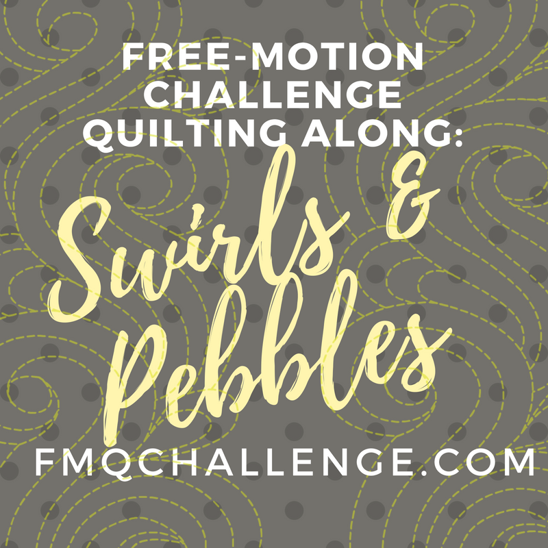 Free-motion Challenge Quilting Along: Swirls – Tagged
