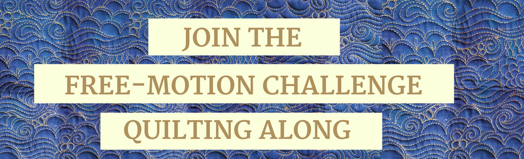 Free-motion Challenge Quilting Along – Tagged