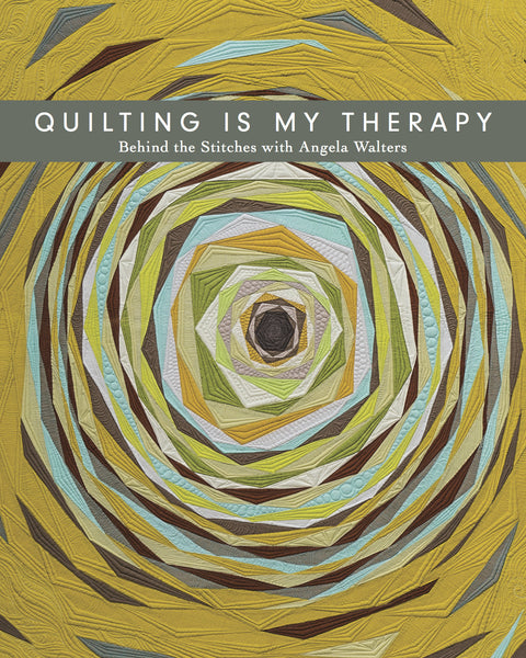 Quilting Is My Therapy Coffee Table book