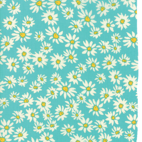 Painted Garden Turquoise Florals