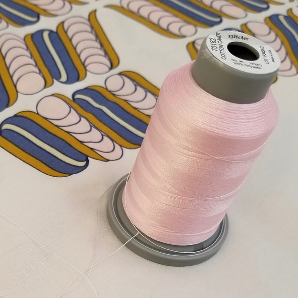 Cotton Candy Pink Glide Thread Spool