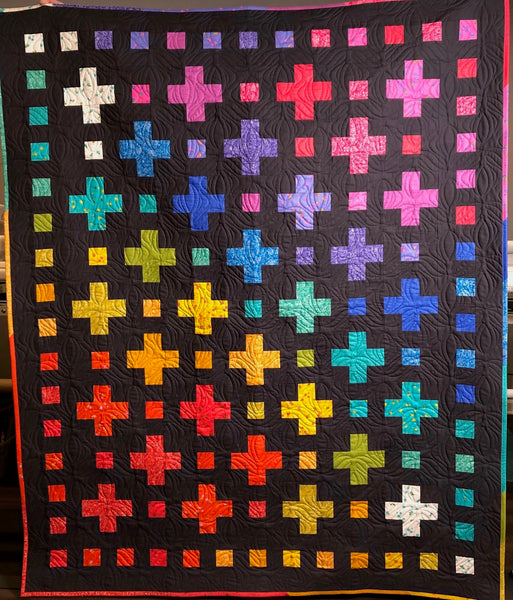 Sunprint Color Crossings Quilt Kit