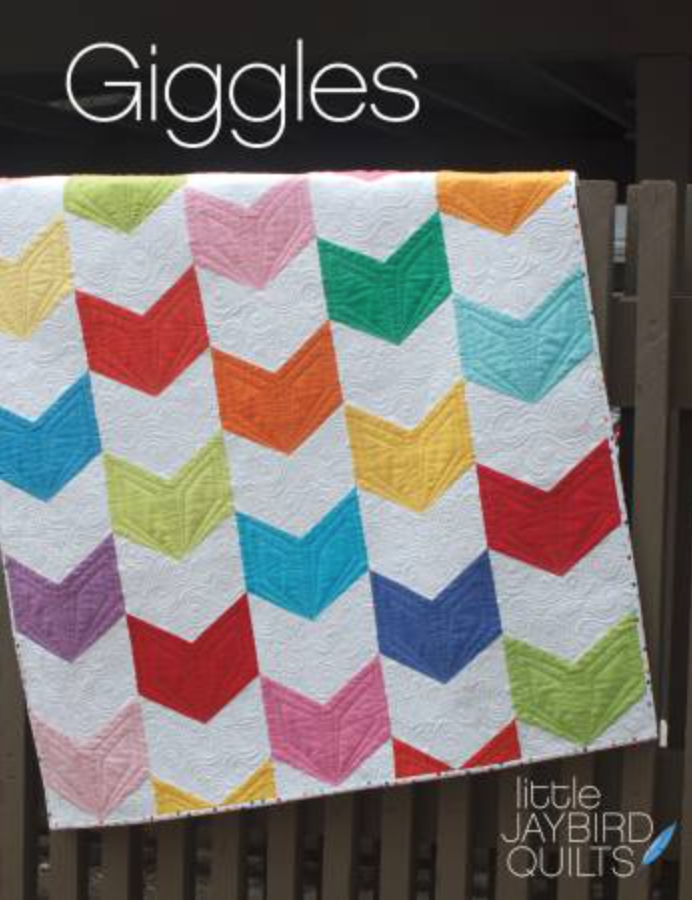 Baby Quilt Patterns.Giggles Baby Quilt Pattern