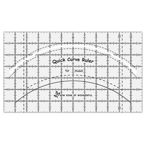 Quick Curve Ruler and Free Pattern
