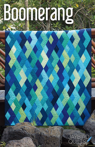 Boomerang Quilt Pattern by Julie Herman