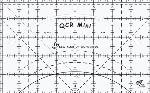 Mini Quick Curve Ruler and Free Pattern