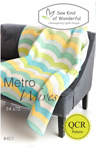 Metro Waves Quilt Pattern