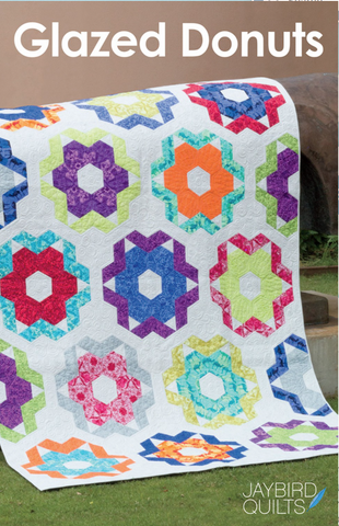 Glazed Donuts Quilt Pattern by Jaybird Quilts